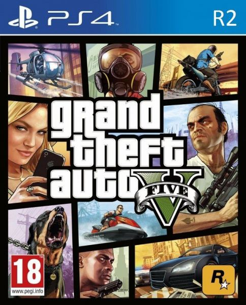 Grand Theft Auto V By Rockstar for PlayStation 4