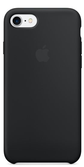 the latest 957d1 fd960 Apple iPhone 7 Silicone Case - Black