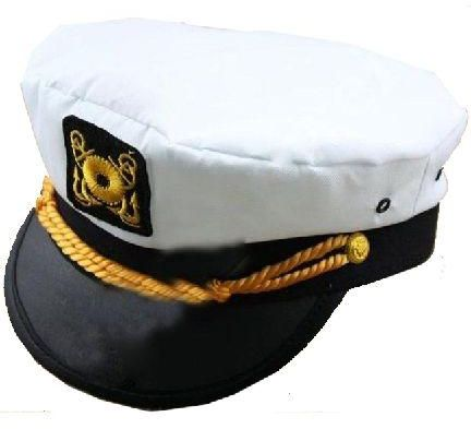 d6fd5c50700 Adults and kids sailor navy captain boat costume hat