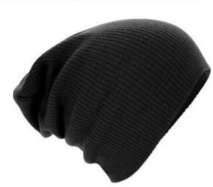 c7c0e4df492 Black Beanie   Bobble Hat For Unisex