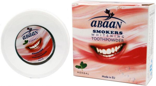 Abaan Tooth Powder For Smokers 50 Gm Souq Uae