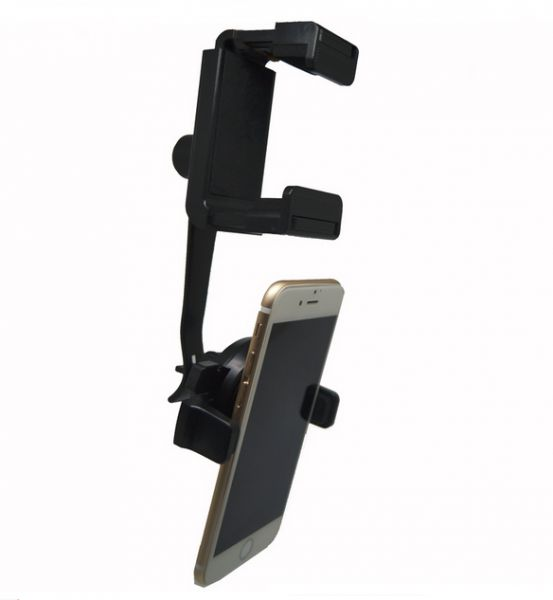 6b62554d4bf Universal support 360 Degrees Car Phone Holder Car Rearview Mirror Mount  Holder Stand Cradle For iPhone 5S 6S 7plus Mobile Phone