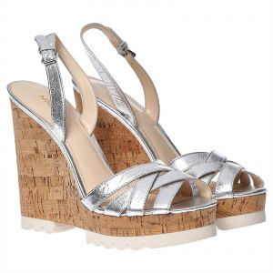 Nine West Wedges for Women - Silver