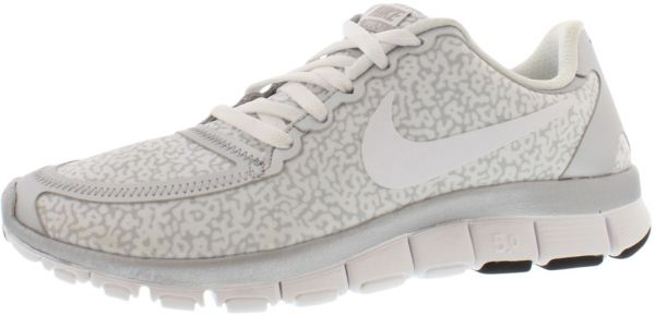 Nike Free 5.0 V4 Running Shoes for Women, SailPink ForceSail