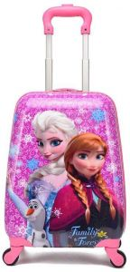 fcf34ab823 Frozen Princess Elsa and Anna Kid s Travel Luggage suitcase Childred Trolley  Case Cartoon Rolling Bag for School Kids Trolley Bag on wheels Boarding Box