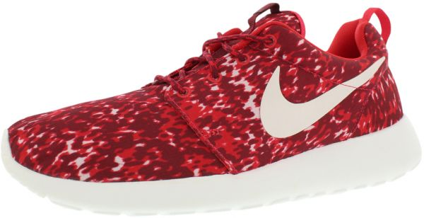 Nike Roshe Run Womens Mens Mesh Maroon Red White Burgandy