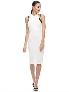 Missguided Bodycon Dress For Women - White & Black