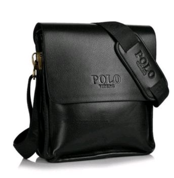 Videng Polo Bag For Men,Black - Briefcases   Souq - UAE 3dcf25b2dd