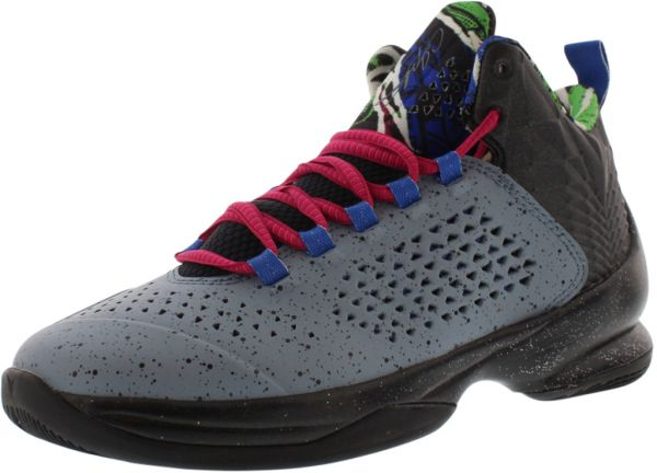 huge selection of f589d ef427 ... coupon for nike jordan melo m11 basketball shoes for boys blue graphite  metallic silver game royal