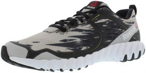 90f964380ee Reebok Twisform Cruz Running Shoes for Men - Steel Black White Yellow