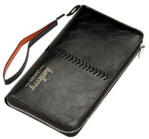 8d45a7c937424f Long Style Retro European Classic Fashion Leisure Business style Genuine  black Leather Wallet for men