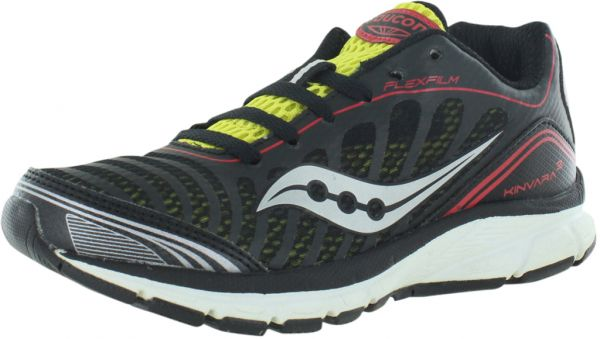 Saucony Progrid Kinvara 3 Running Shoes for Boys, BlackRed