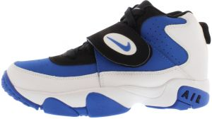 the latest d72ec 3f149 Nike Air Mission Gradeschool Running Shoes for Boys, White true Royal Black