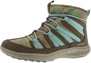 Merrell Taupe/Mint Lace Up Boot For Women
