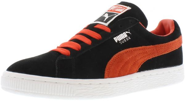 d54d0b61ab32a Puma Black/Orange Fashion Sneakers For Women