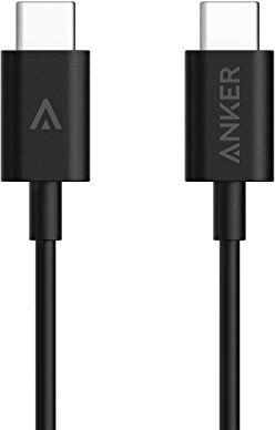 Anker 3 3ft Usb C To Usb C Cable Black A8180011