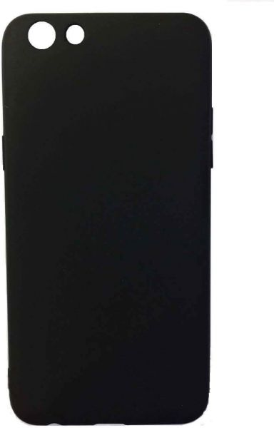 Flexible back cover for OPPO F3 - Black