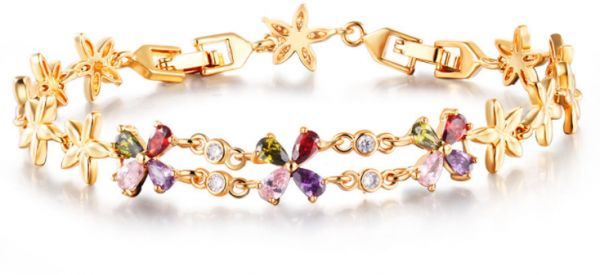 ... Romantic Color Crystal Color Clover Valentine Fashion Jewelry