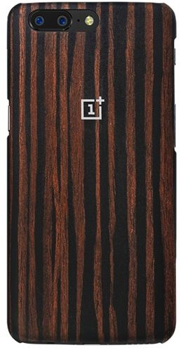 reputable site abcde af44e OnePlus 5 Protective Case - Ebony Wood