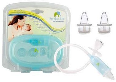Baby Safe Nose Cleaner Vacuum Nasal Aspirator Suction Nasal Mucus