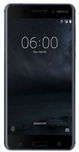 Nokia 6 Dual Sim - 32GB, 3GB RAM, 4G LTE, Tempered Blue
