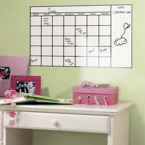 diy removable wall stickers for office room home decor - whiteboard