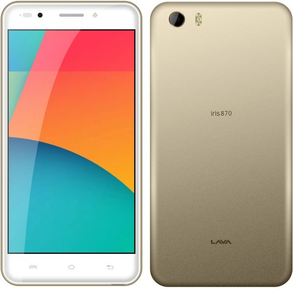 Lava Iris 870 Dual SIM - 8GB, 2GB RAM, 4G LTE, Gold, price, review and buy  in Dubai, Abu Dhabi and rest of United Arab Emirates | Souq.com