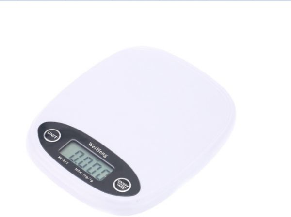 Mini Digital Kitchen Scale 1g 7kg Weighting Capacity Electronic Food