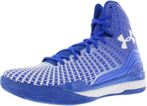 Under Armour Micro G Clutchfit Drive Basketball Shoes for Men, Blue/White