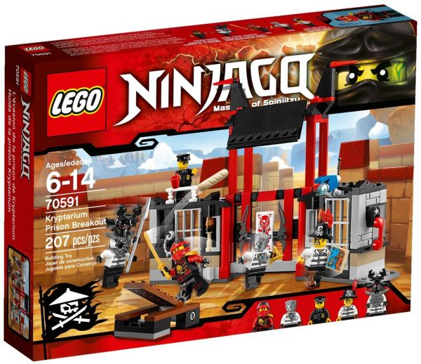 LEGO NINJAGO Kryptarium Prison Breakout 70591, price, review and buy ...
