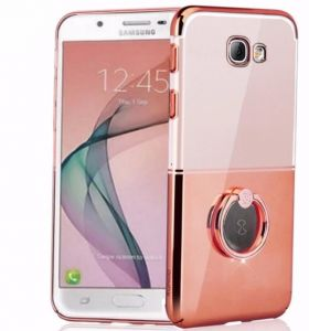 Magic Waltz Series I-Ring Case Cover For Samsung Galaxy A5 2017 SM-520 - Rose Gold