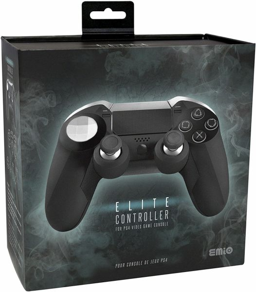 EMiO Elite Controller for PS4 Gaming Console - Black