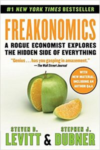 Freakonomics: A Rogue Economist Explores The Hidden Side of Everything by Steven D. Levitt and Stephen J. Dubner - Paperback