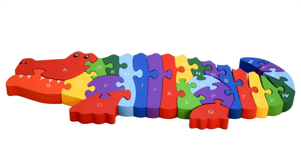 The Crocodile Alphabet and Numbers Puzzle - 2 in 1