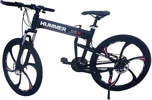 Folded Hummer Bicycle Black Price Review And Buy In