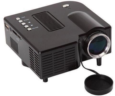 Star Pocket Mini Led Projector Uc28 Home Theater Support Hdmi Vga Card Av In Use For And Office