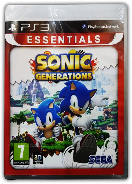 Sonic Generations PlayStation 3 by SEGA
