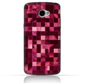 LG K5 TPU Silicone Case With Glamour Disco Squares Design