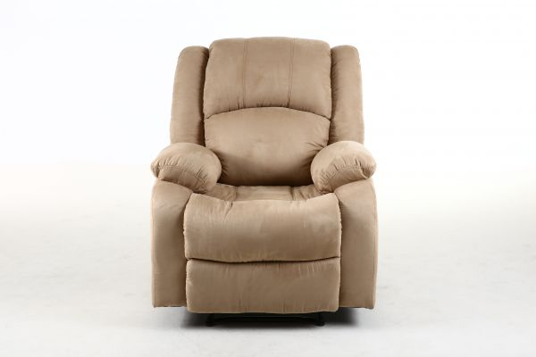 cream chair with ottoman vogue micro fiber recliner sofa chair price 13581 | item XL 22927170 33784928
