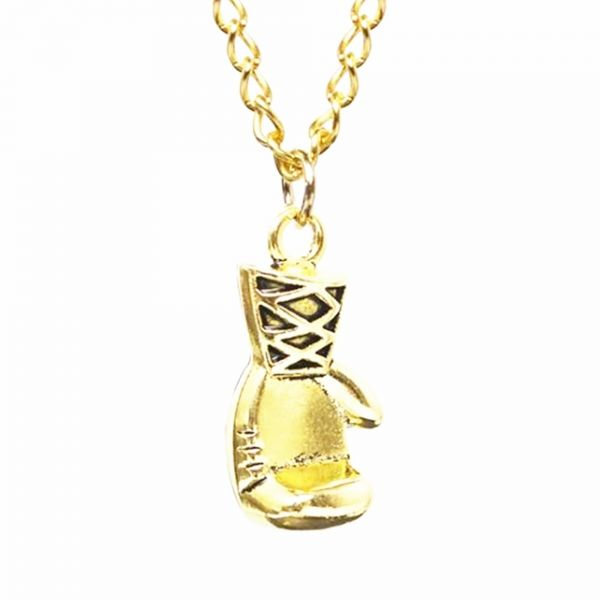 Buy men women punk stainless steel boxing glove chain pendant men women punk stainless steel boxing glove chain pendant necklace gold mozeypictures Image collections