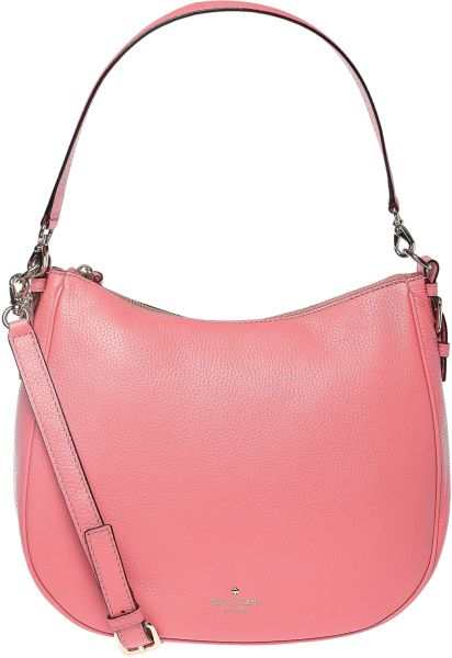 Kate Spade Mylie Hobo Bag For Women Warm Guava