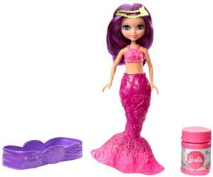 Barbie Small Bubble Mermaid Purple Hair DVM97_1 Dolls Toy