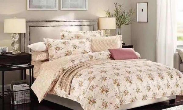 Six Pieces Cotton Quality Bedding Sets Duvet Covers Bed Sheets Comforter  Covers