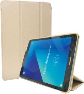 8d8a62544 Samsung Galaxy Tab S3 9.7 Inch Tri-Fold Stand Folio Smart Leather Case  Cover - Gold