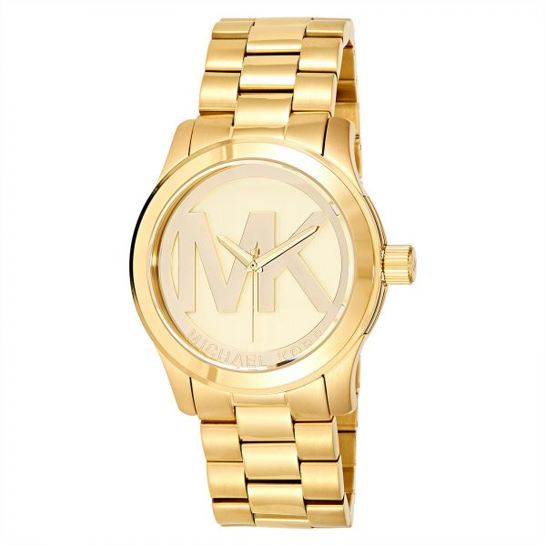 691cb0a2a05ed Michael Kors Runway Watch for Women - Analog Stainless Steel Band - MK5473