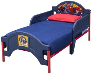 Delta Children Spider Man Plastic Toddler Bed