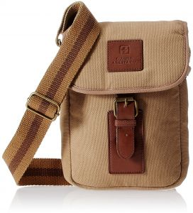 dc900952b70 Swiss Military CAN3 Messenger Bags for Unisex - Canvas, Beige