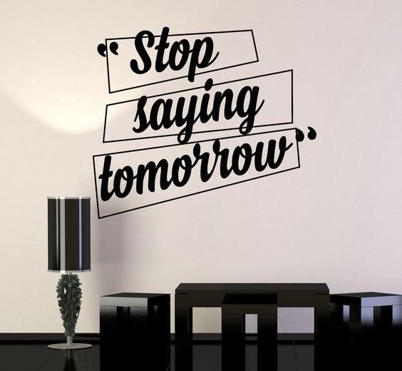 office quotes wall decals, home decor, waterproof wall stickers