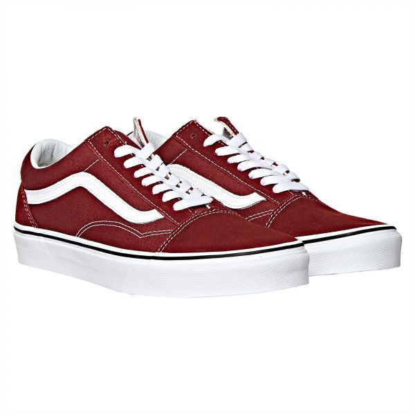 Vans Old School Fashion Sneakers for Men - Maroon  9fd004144