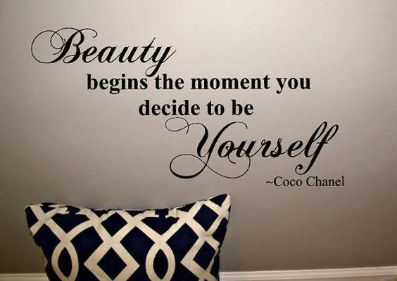 coco chanel quotes for living room, wall decals home decor